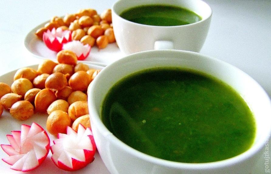 zupa z lisci rzodkiewki 2