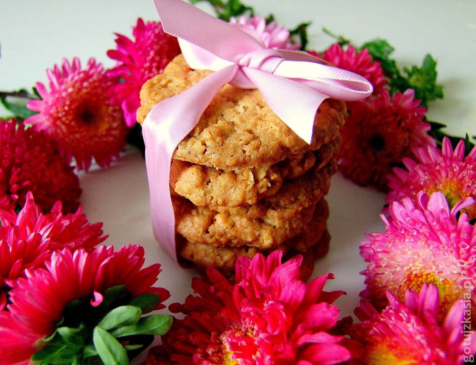 waniliowe ciasteczka owsiane 1