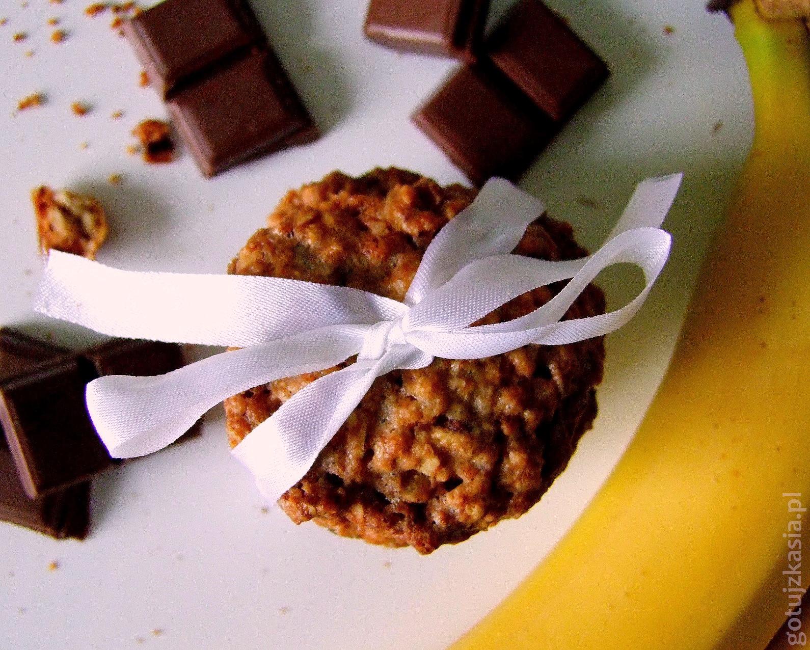 owsiane z czekolada i bananem 3