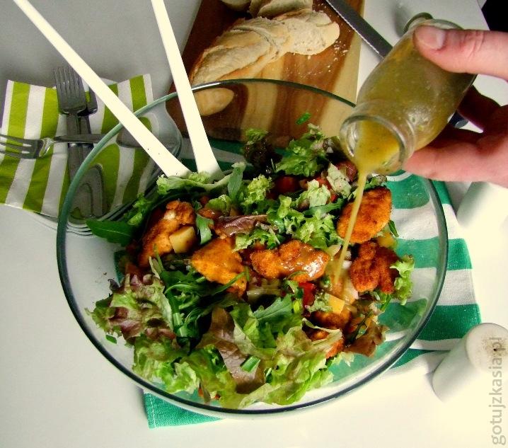 salatka z kurczakiem 3