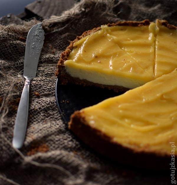 sernik z lemon curd 3