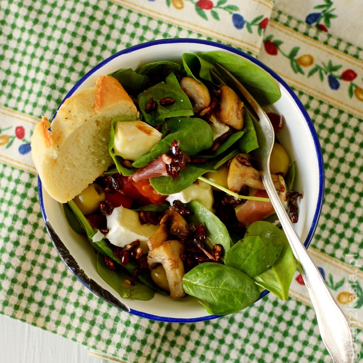 salatka ze szpinakiem 4