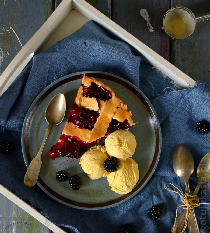 ciasto z jezynami 2