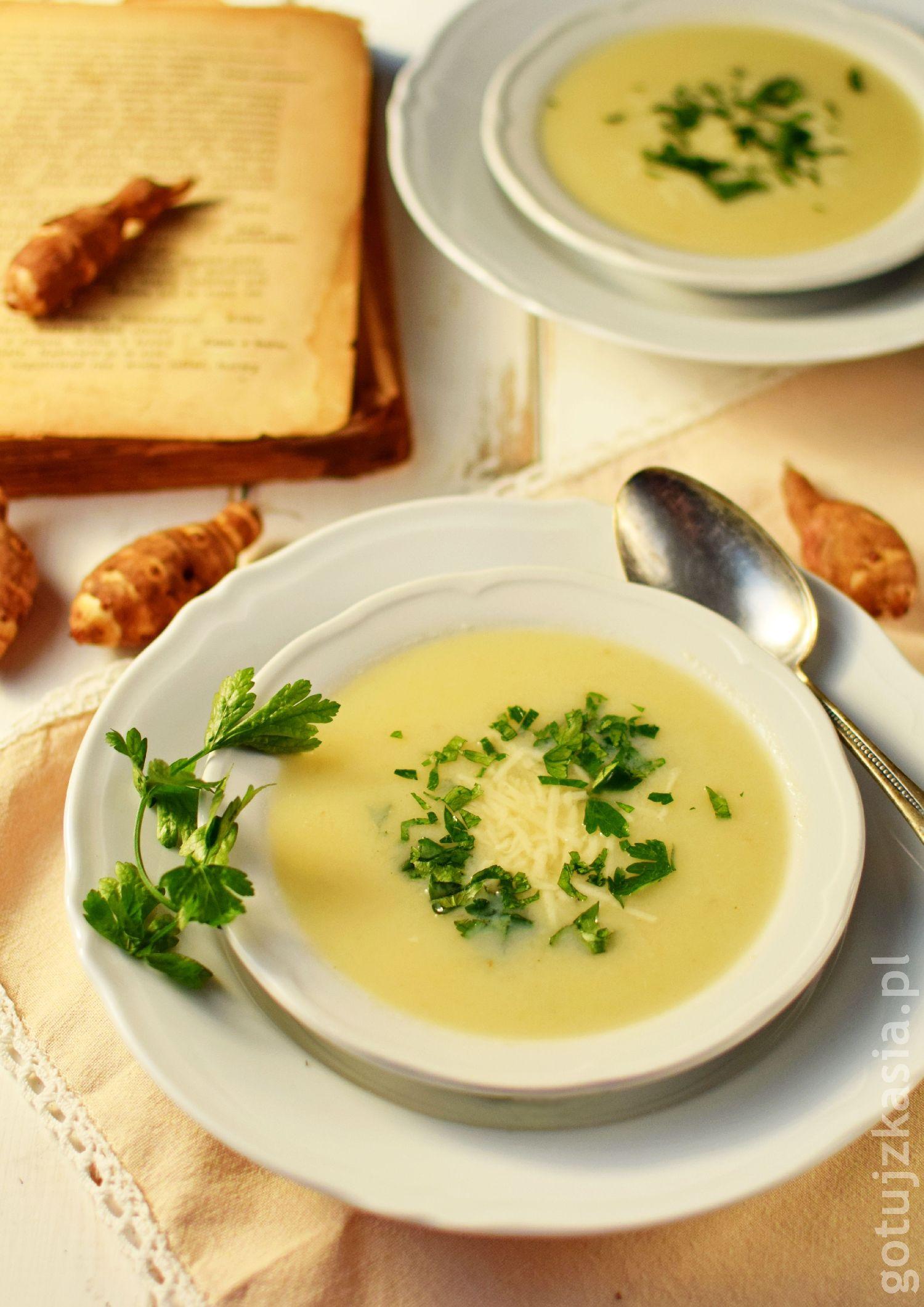 staropolska zupa z topinamburem 3