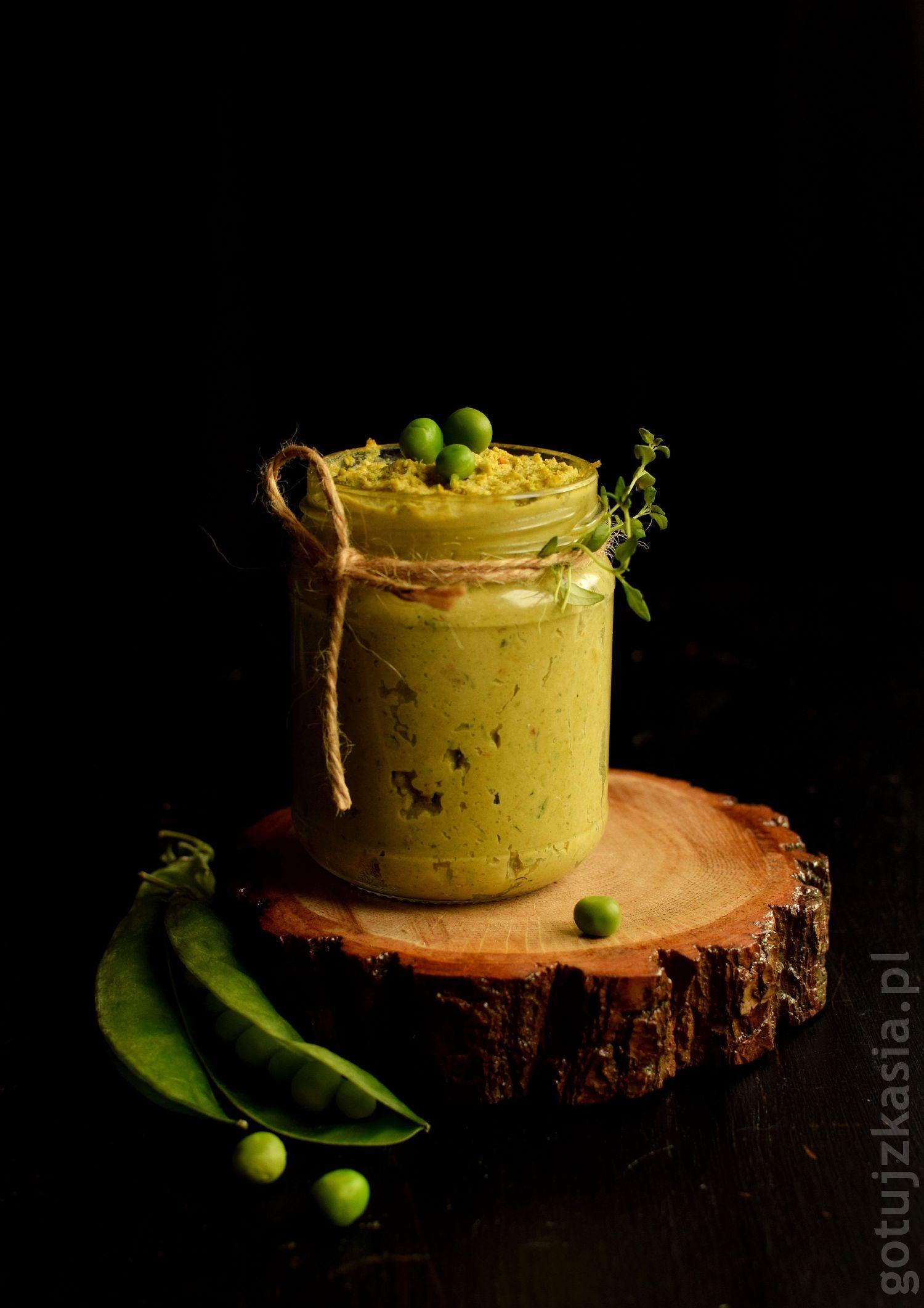 pesto z zielonego groszku 2