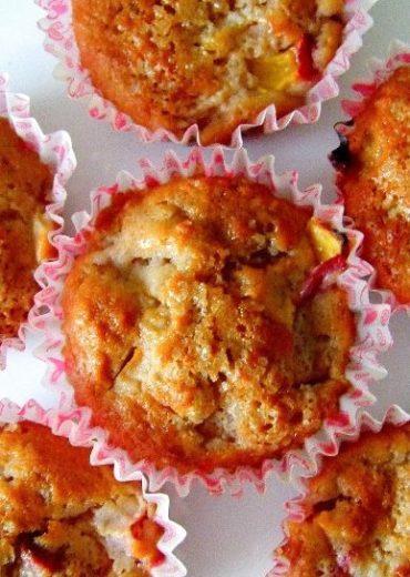 muffinki z nektarynka