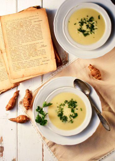 staropolska zupa z topinamburem