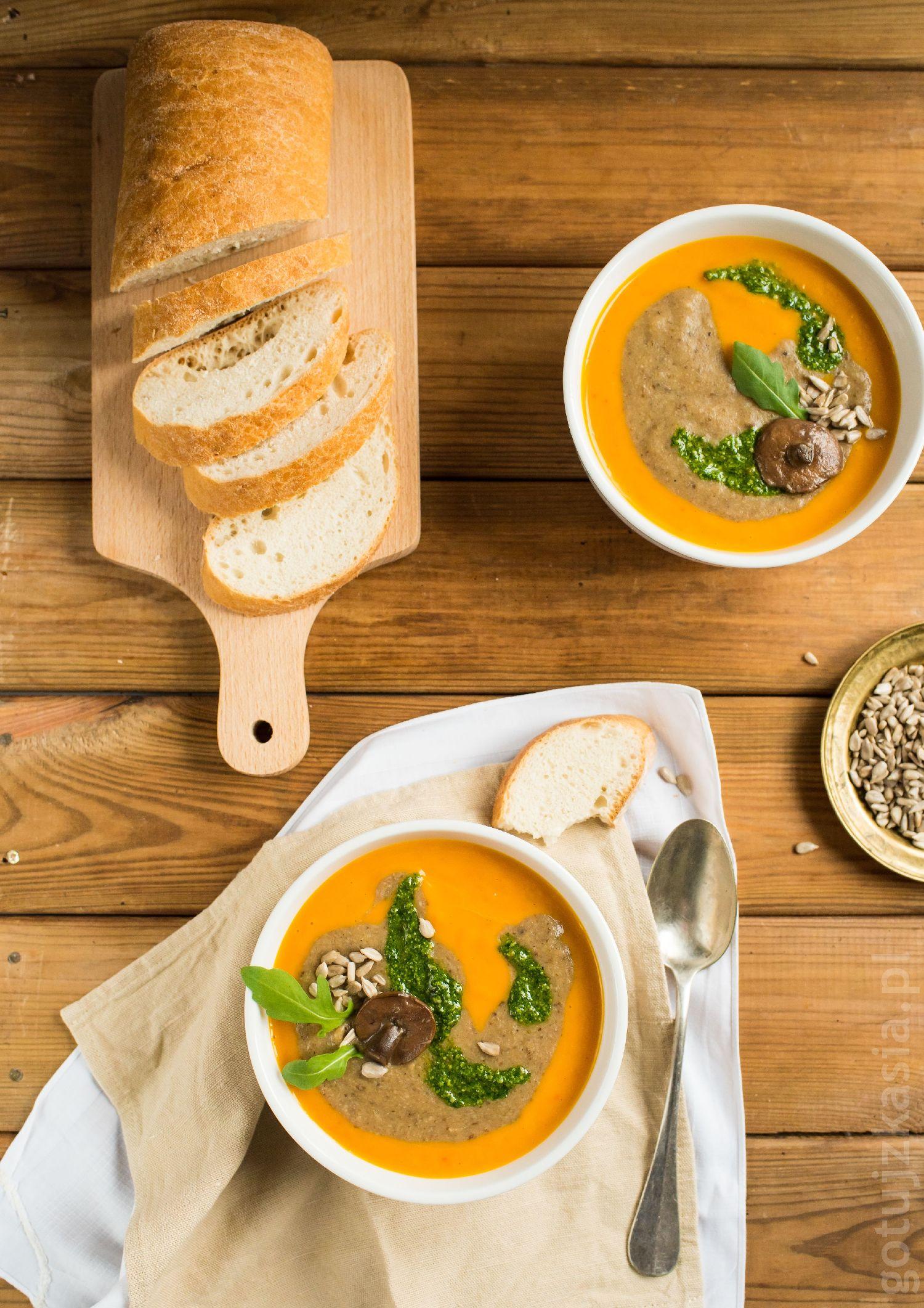 zupa dyniowo-grzybowa 4