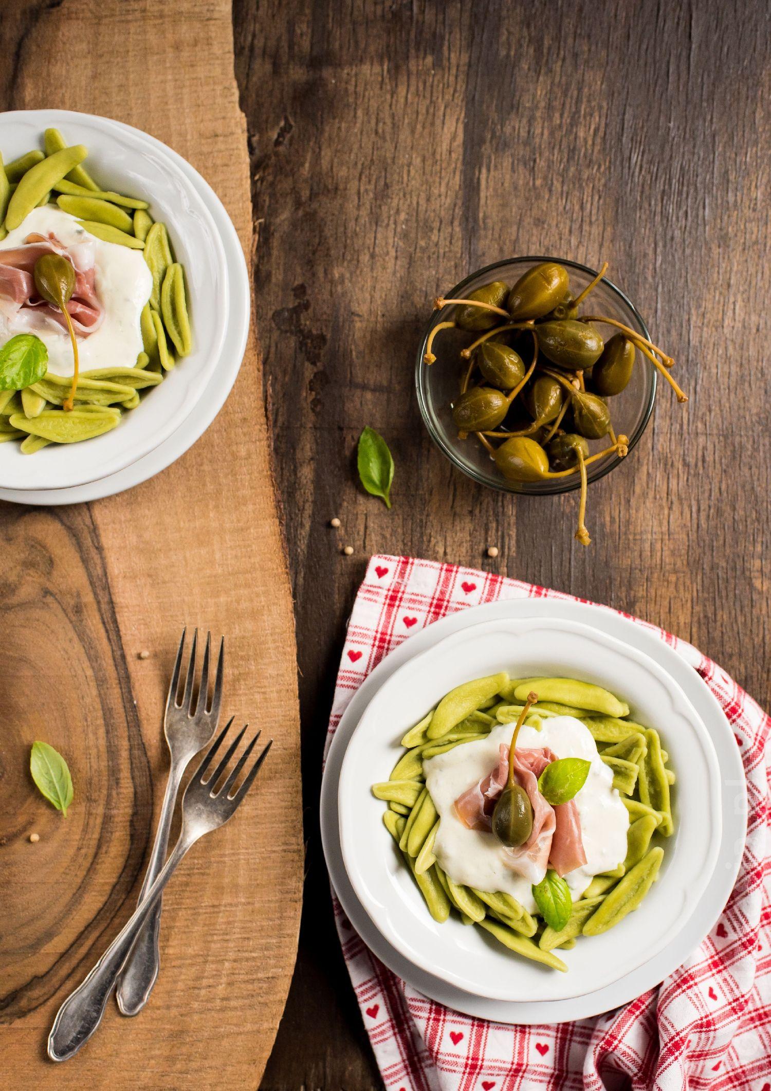 makaron z sosem gorgonzola 2