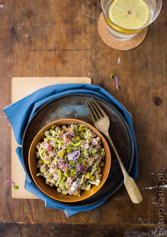 salatka z kielbasa 2