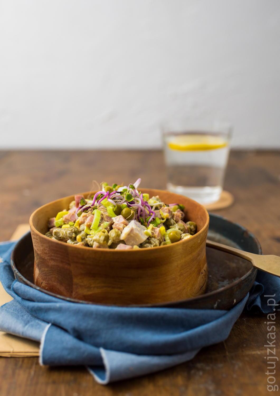 salatka z kielbasa 3