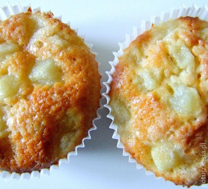 muffiny z gruszka i imbirem 2