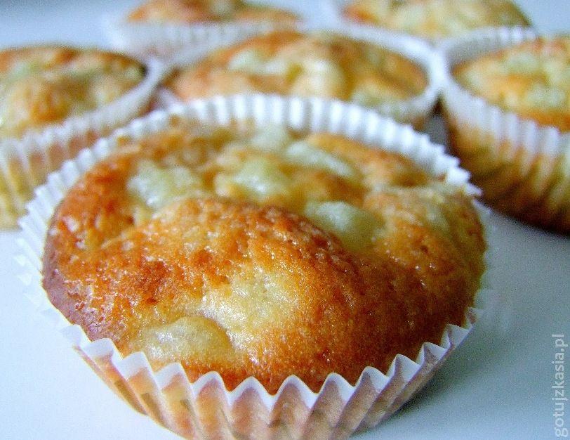 muffiny z gruszka i imbirem