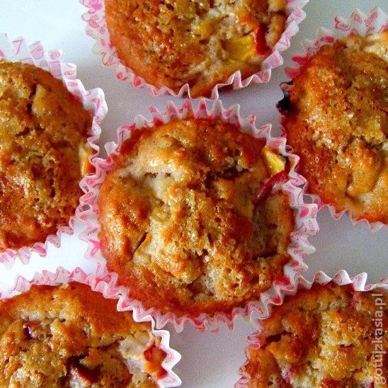 muffinki z nektarynka 2
