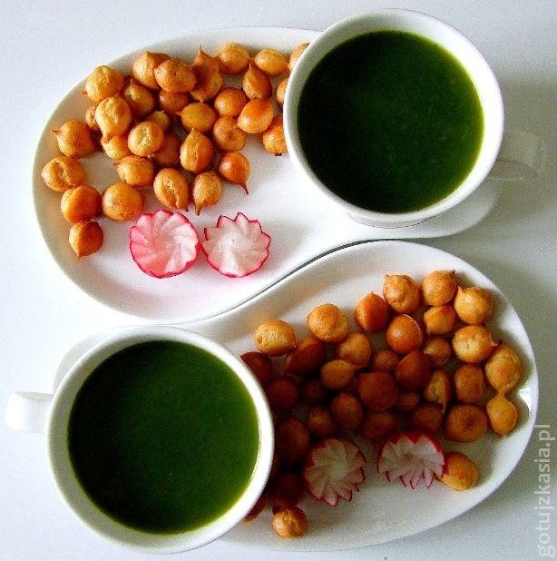 zupa z lisci rzodkiewki