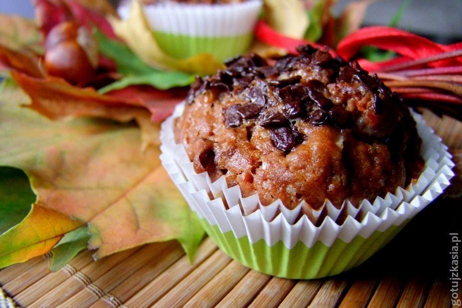 jesienne muffinki