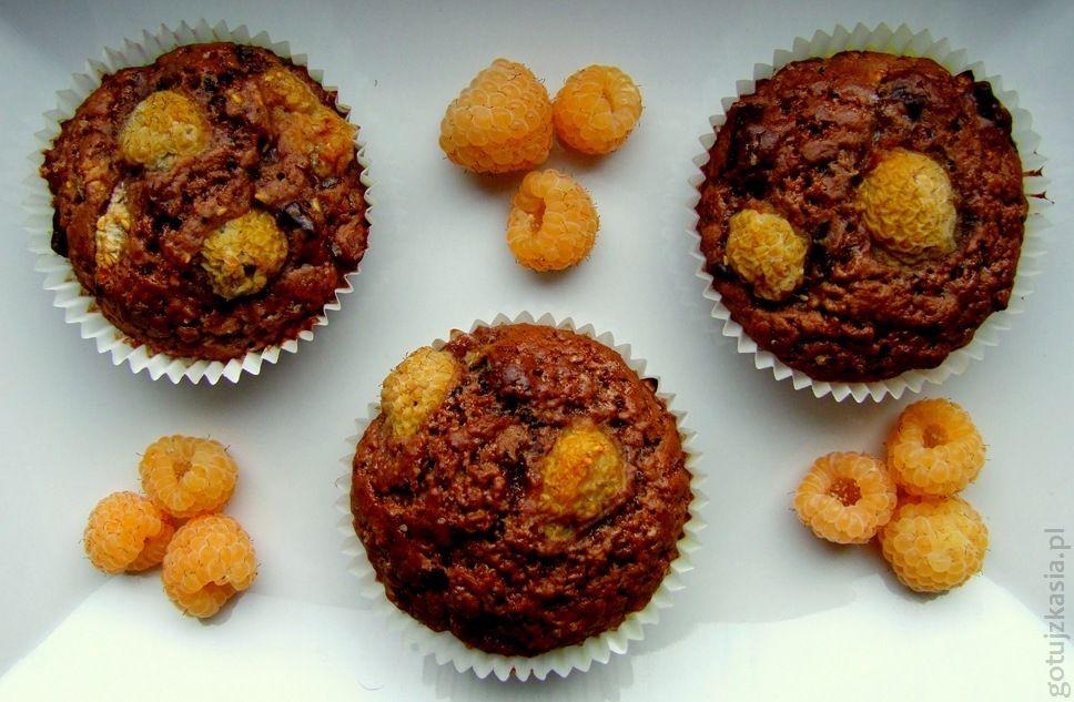 muffiny z zoltymi malinami 2