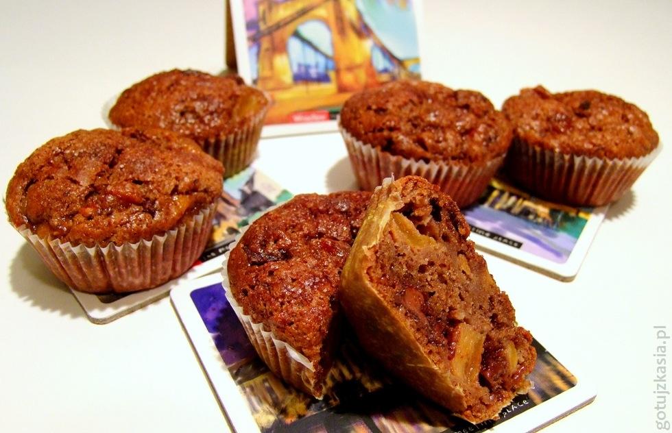 kakaowe muffinki z owocem kaki 2