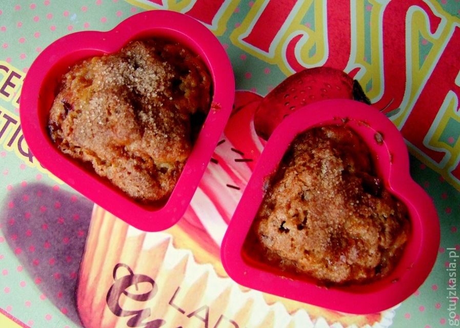 muffiny ze sliwkami