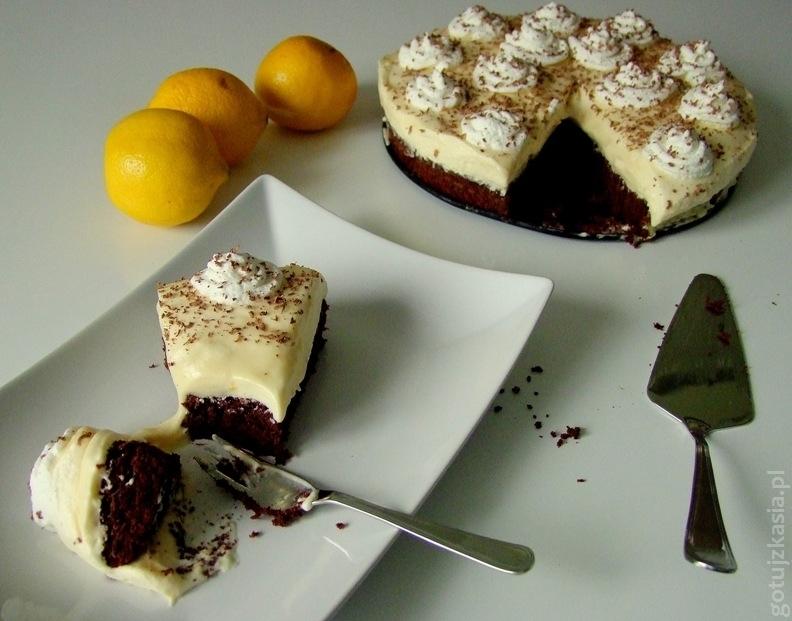 ciasto cytrynowo-czekoladowe