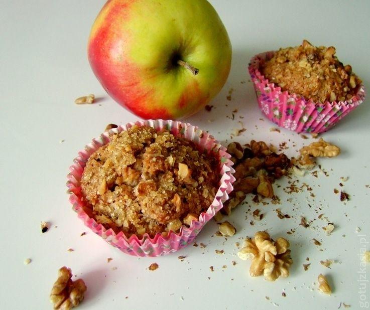 jablkowo-cynamonowe muffinki