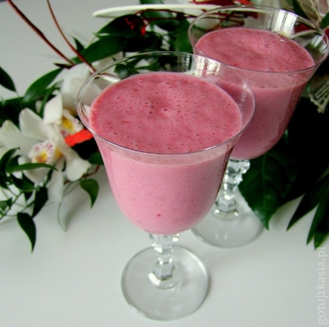 malinowe smoothie 3