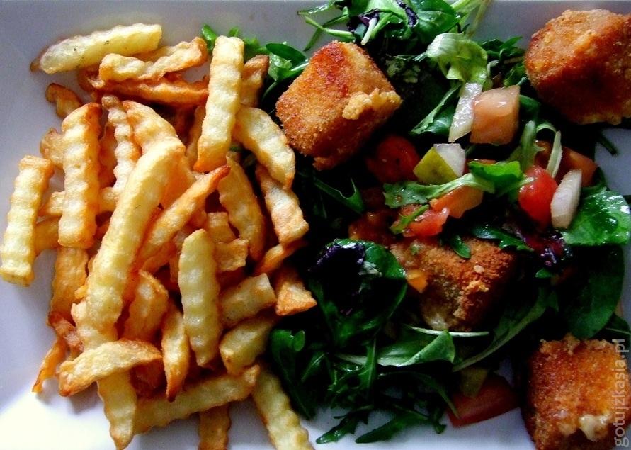 salatka ze smazonym serem 3