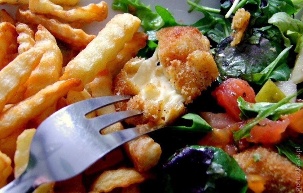 salatka ze smazonym serem 2
