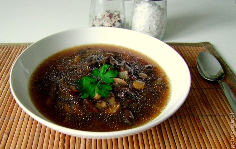 zupa grzybowa 4