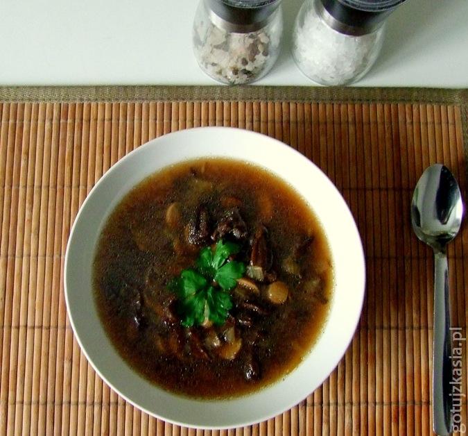 zupa grzybowa 2