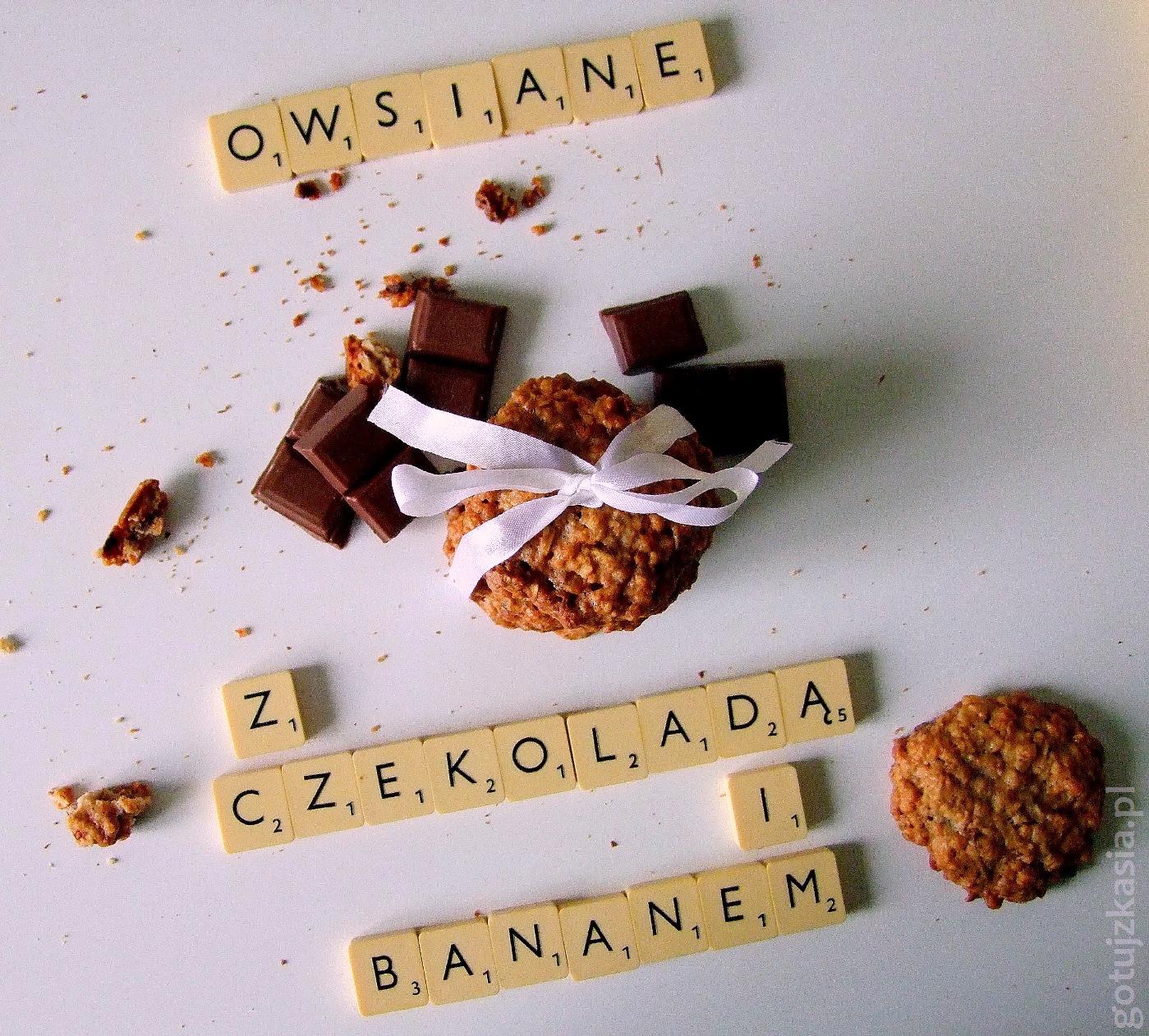 owsiane z czekolada i bananem 4