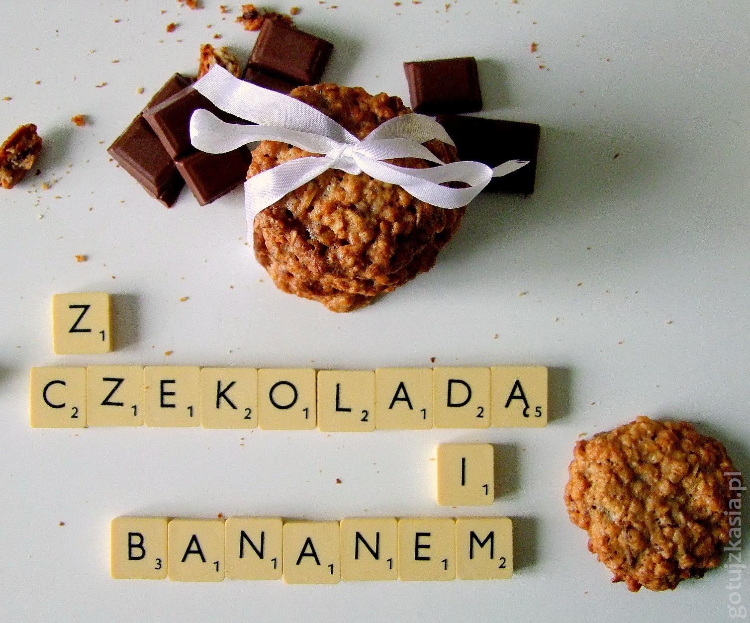 owsiane z czekolada i bananem 1