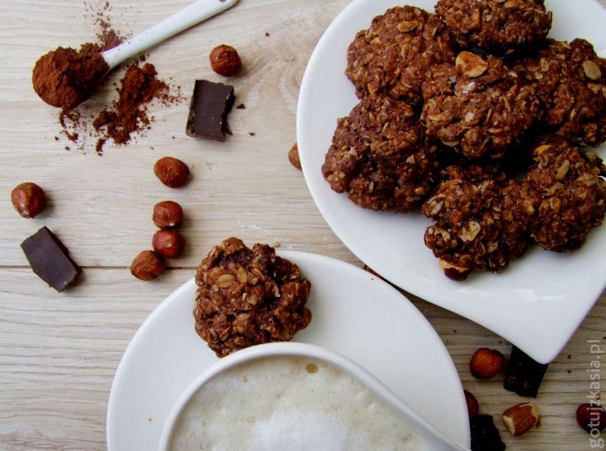 podwojnie czekoladowe owsiane ciasteczka (1)