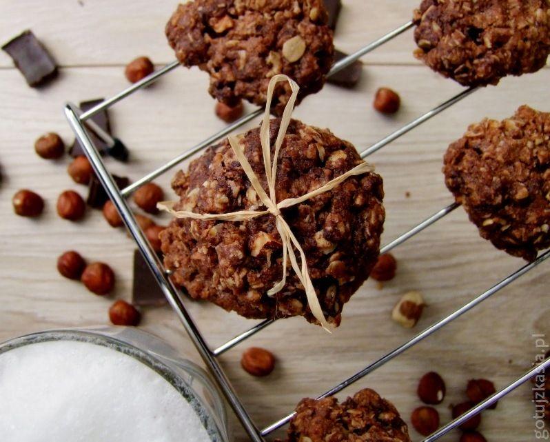 podwojnie czekoladowe owsiane ciasteczka (2)