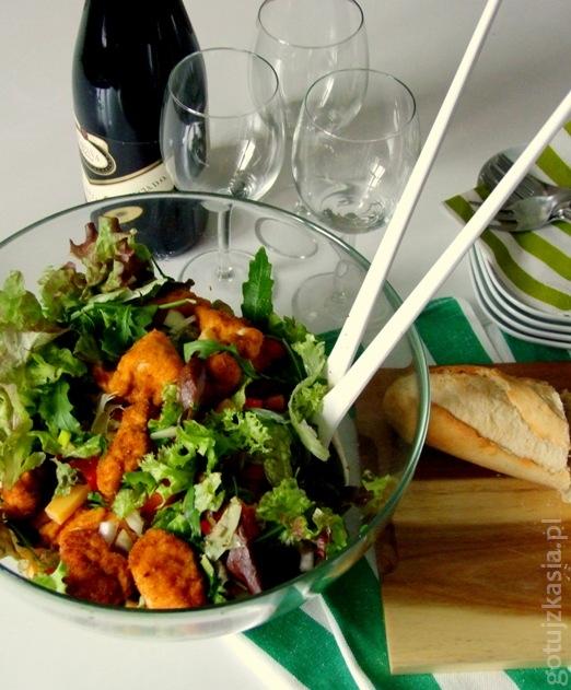 salatka z kurczakiem 4