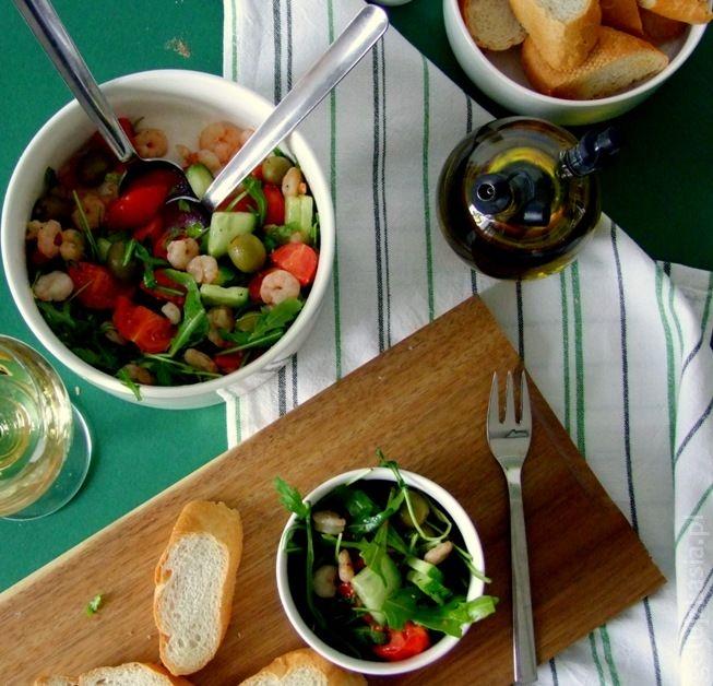 salatka z krewetkami 1