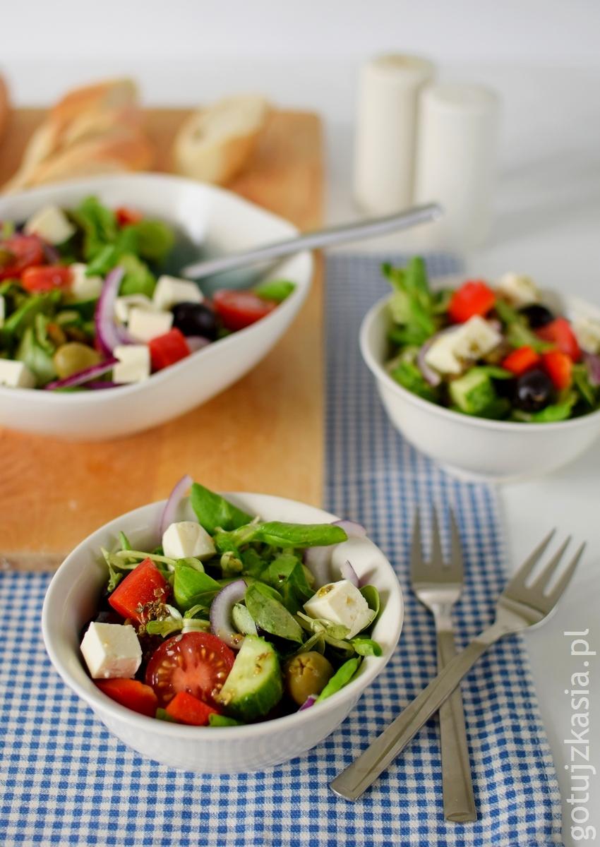 salatka grecka 1