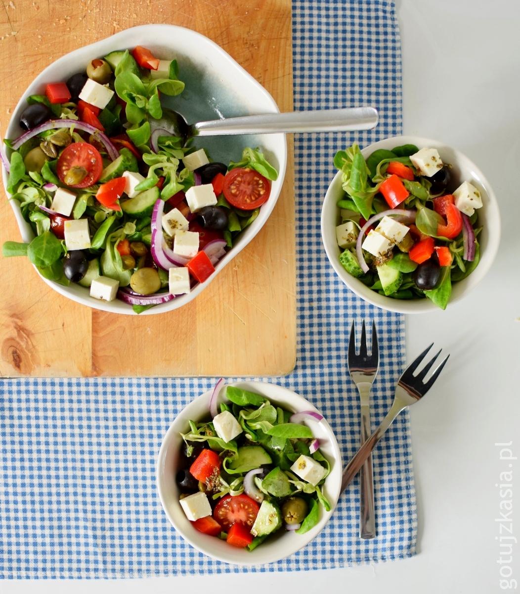 salatka grecka 2