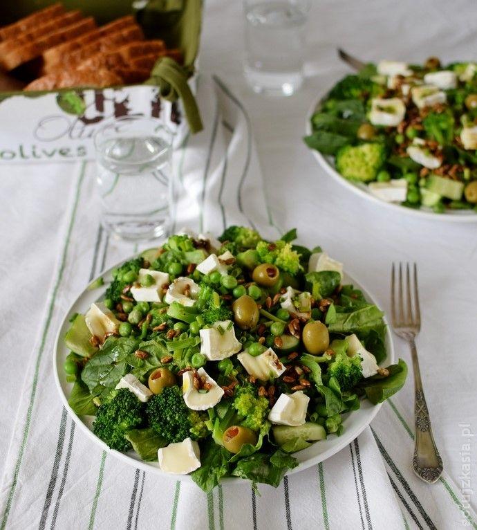 zielona salatka 1