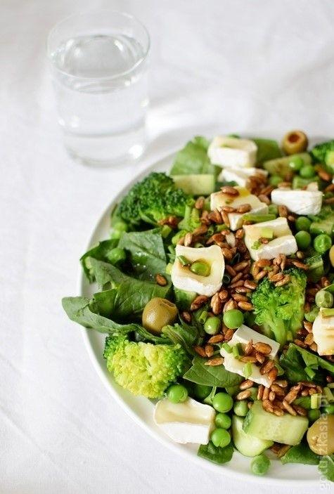 zielona salatka 3