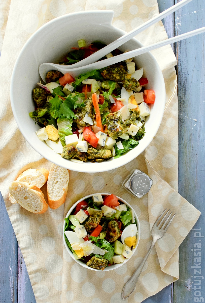 salatka z ziolowym indykiem 4
