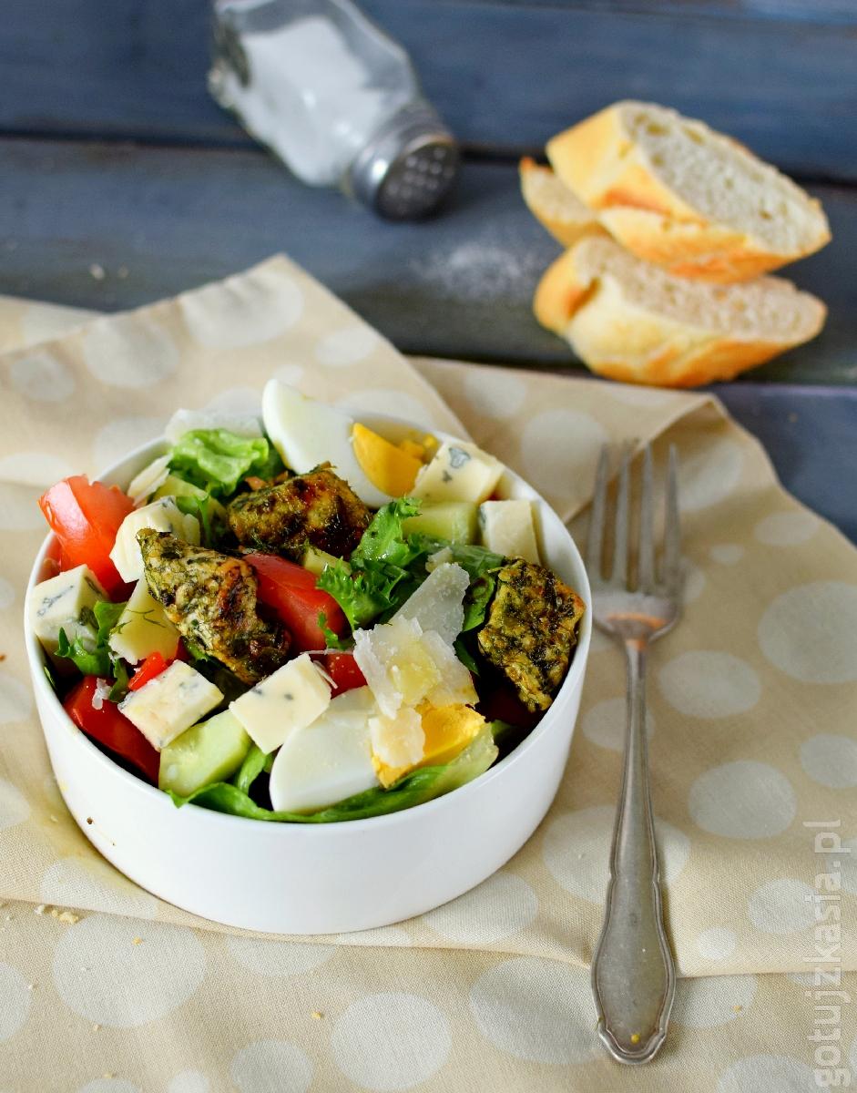 salatka z ziolowym indykiem 5