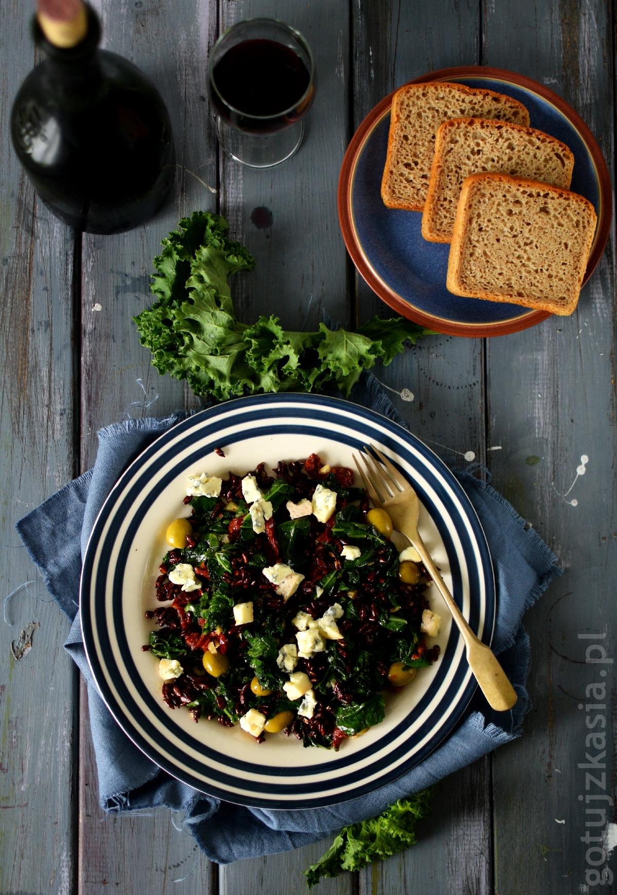 salatka z jarmuzem 1