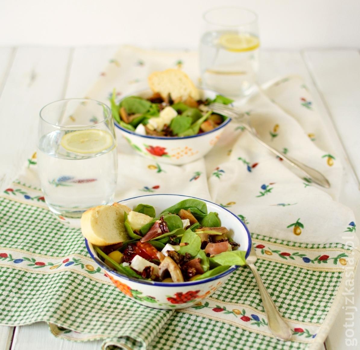 salatka ze szpinakiem 3
