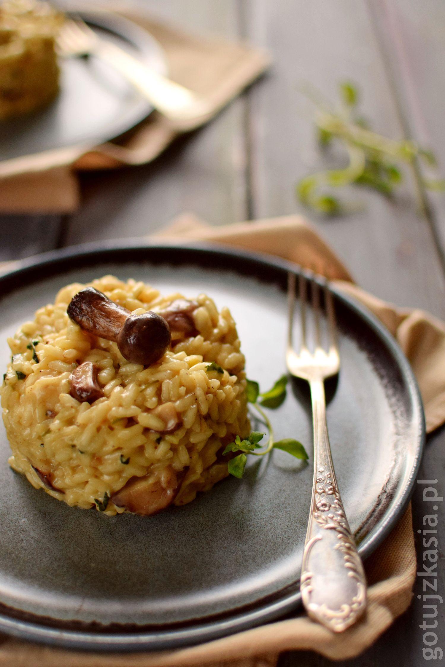 risotto z grzybami 1