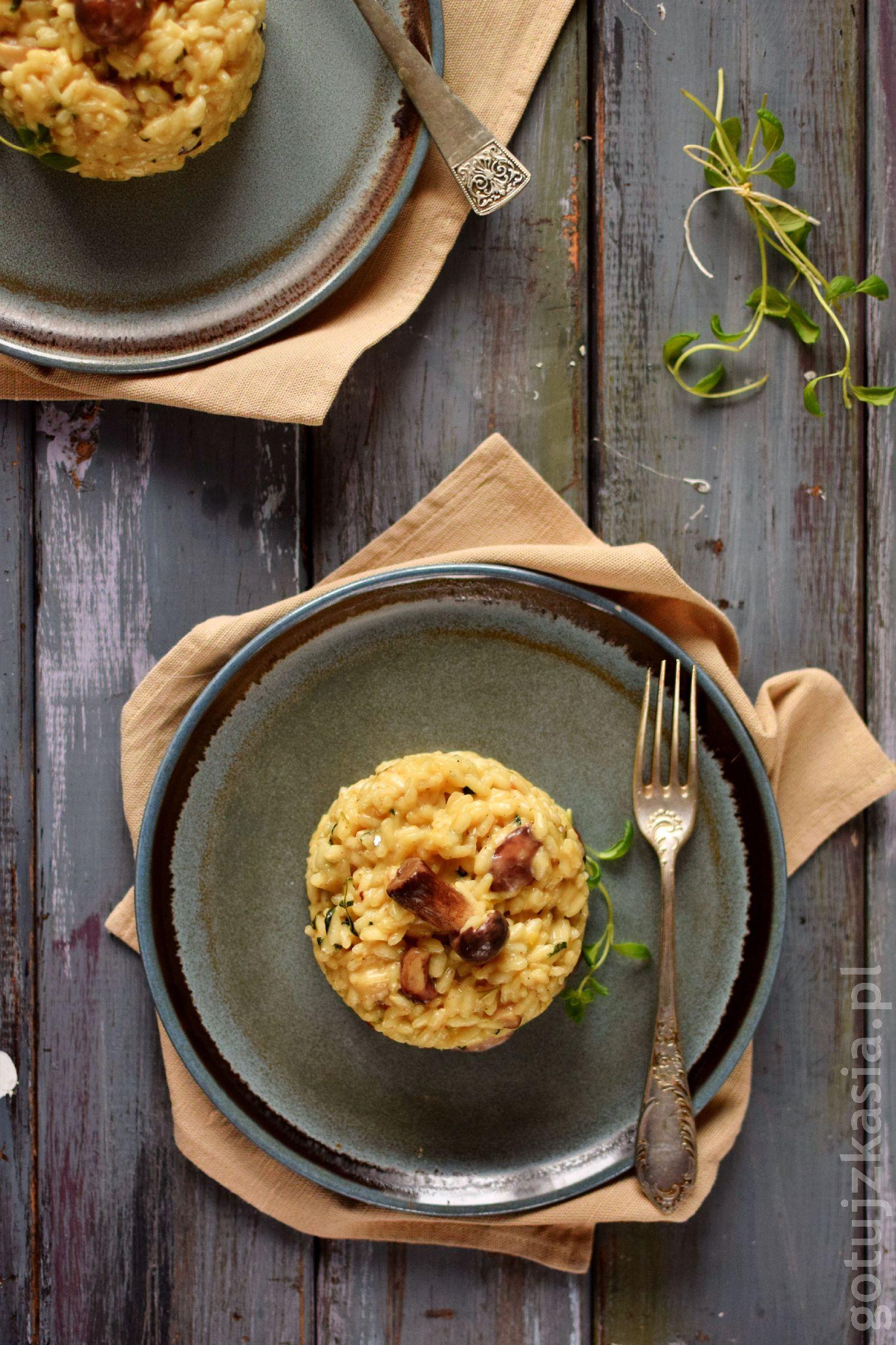 risotto z grzybami 2