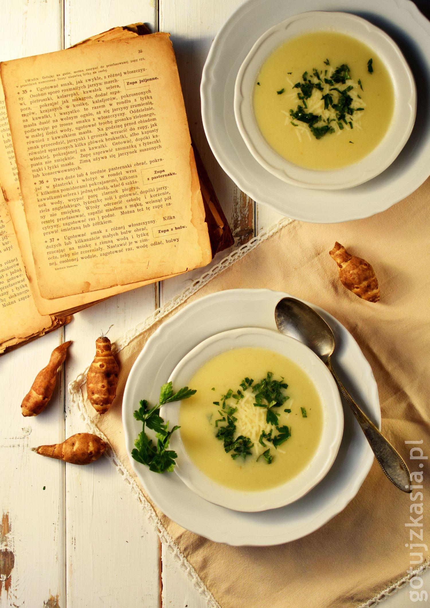 staropolska zupa z topinamburem 1
