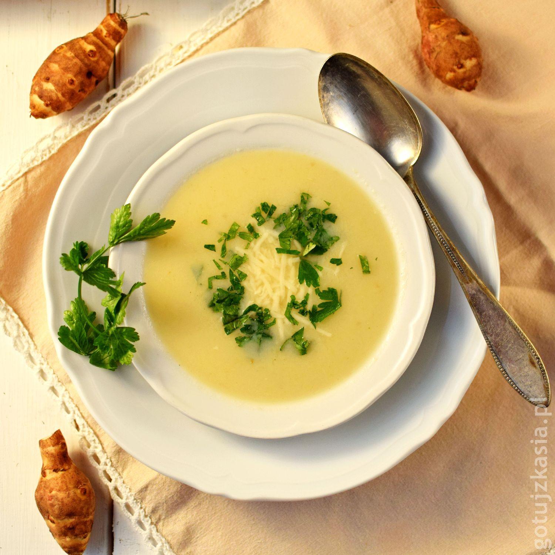 staropolska zupa z topinamburem 2