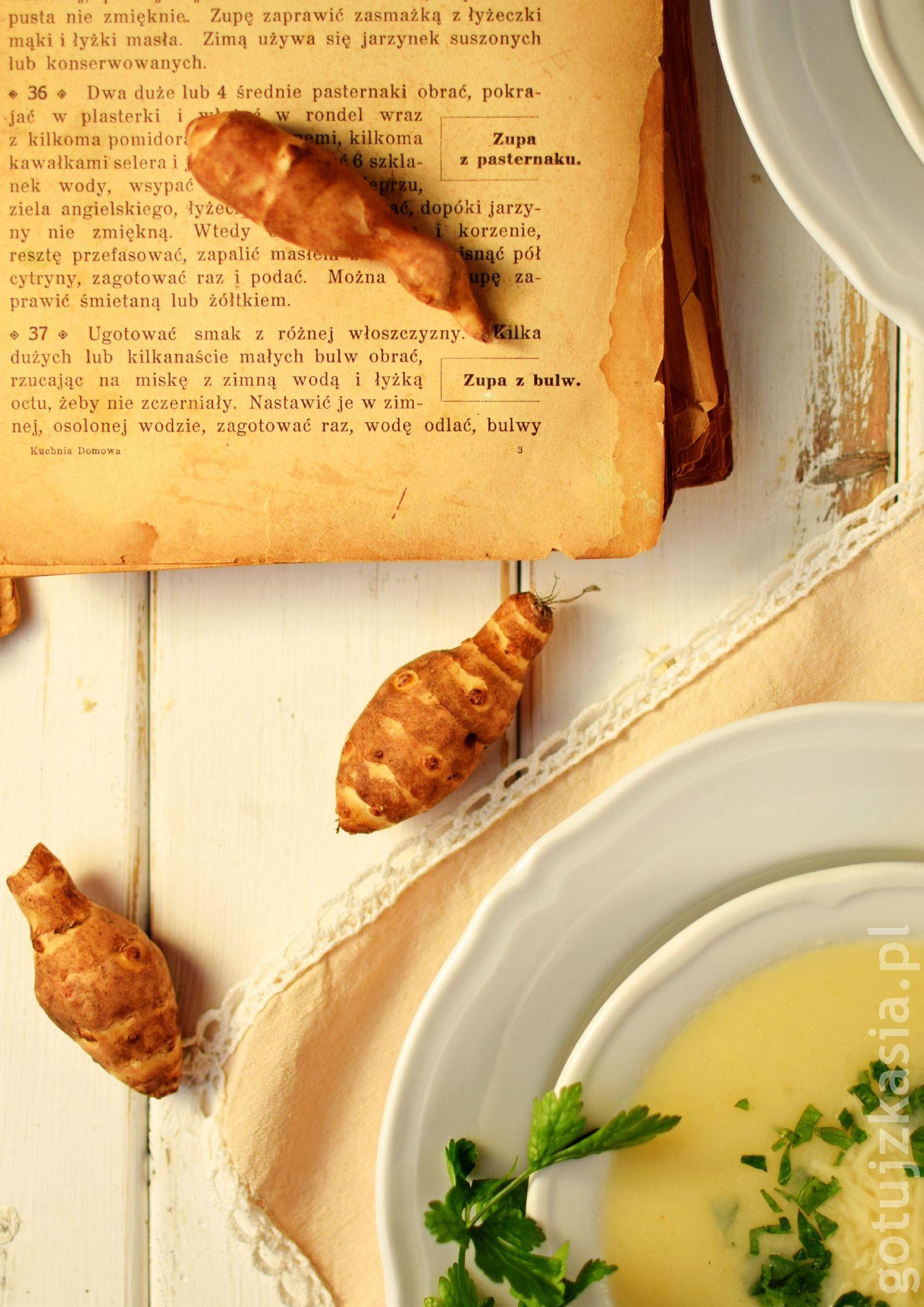 staropolska zupa z topinamburem 4