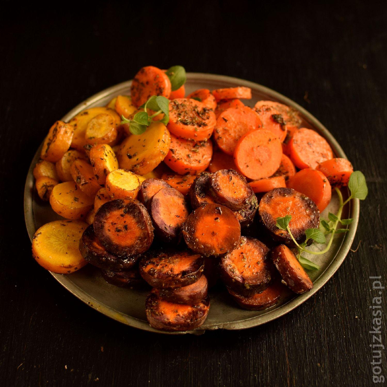 pieczone marchewki 1